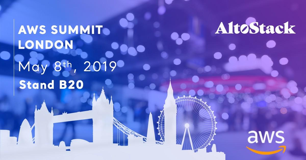 altostack-sponsors-aws-summit-london-2019-may-8th